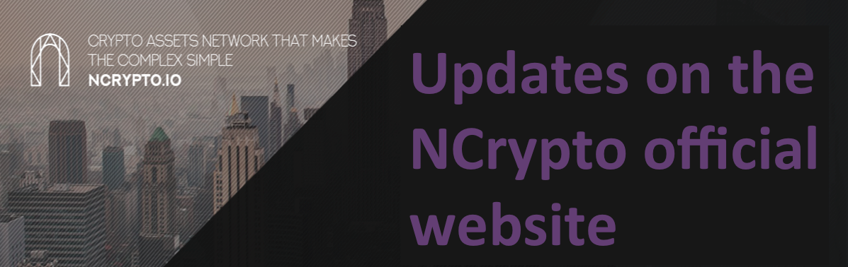 Updates on the NCrypto official website